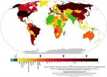 La France est le pays où la santé est la moins chère au monde