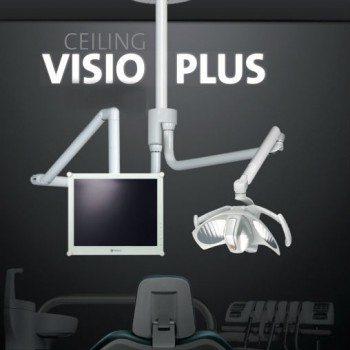 Eclairage scialytique plafond avec bras d'écran Ceiling Visio Plus