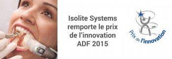 Isolite Systems gagne le prix de l'innovation ADF 2015
