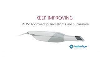 Une passerelle entre les scanners intra-oraux TRIOS® et le traitement d'alignement Invisalign disponible à partir du 4ème trimestre 2016
