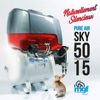 Compresseur dentaire PURE AIR SKY 50/15 PRIME M