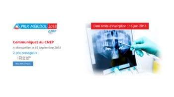 Prix Meridol® 2018 : Les inscriptions sont ouvertes