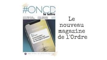 L'Ordre lance son nouveau magazine : #ONCD La Lettre