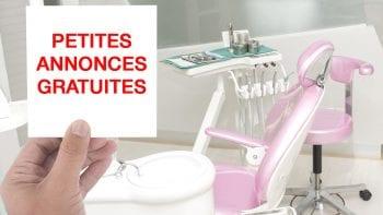 Les petites annonces sont gratuites sur Dynamique Dentaire